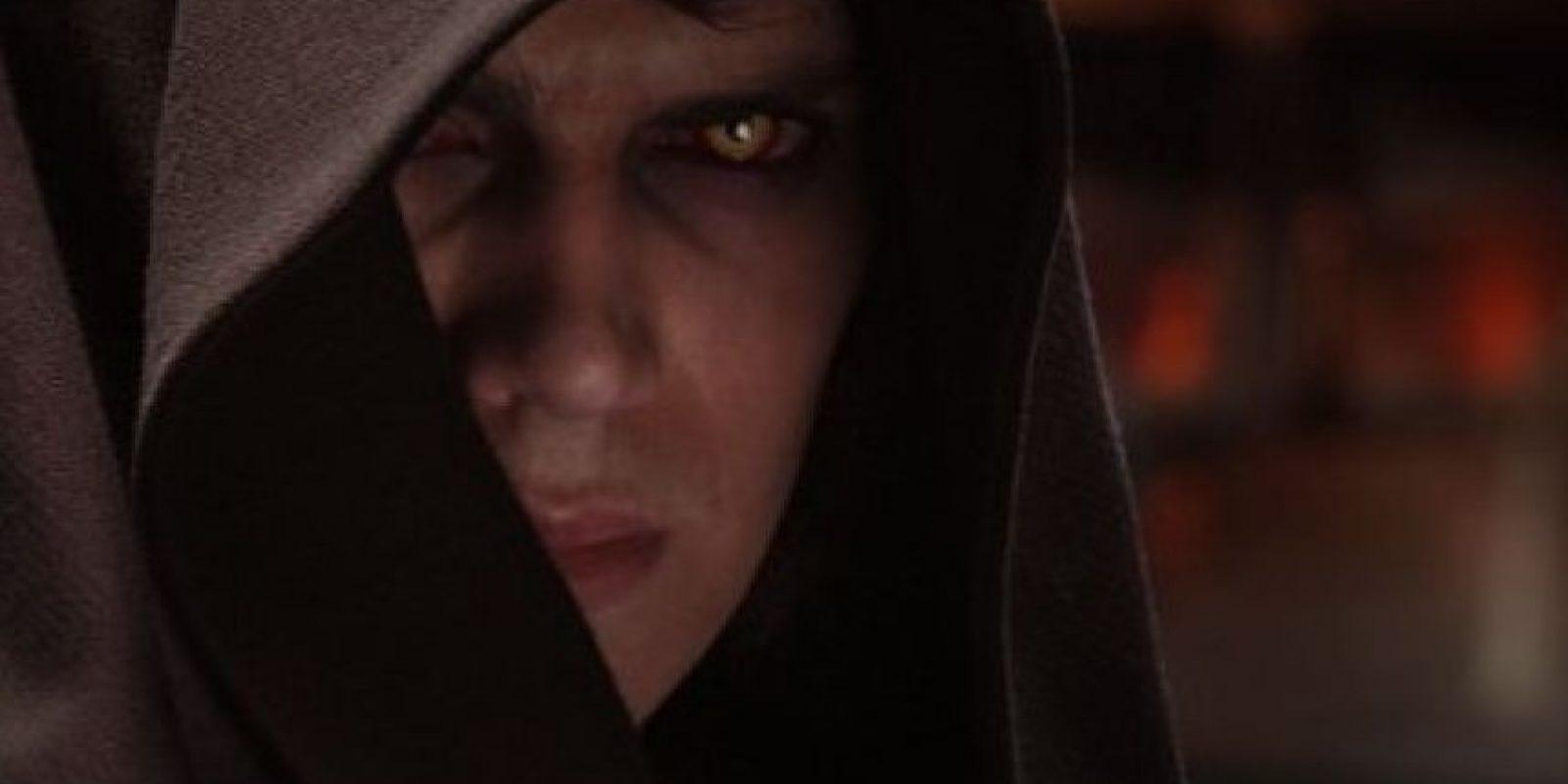 """""""Anakin Skywalker"""" en """"Star Wars: La venganza de los Sith"""" Foto:IMDb"""