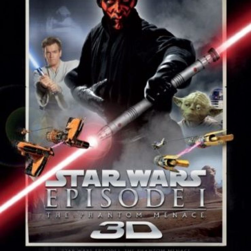 """""""Star Wars Episodio I: La amenaza fantasma"""" fue estrenada el 19 de mayo de 1999. Foto:IMDb"""