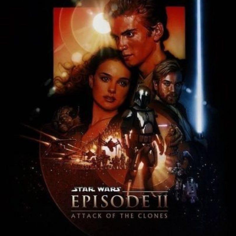 """""""Star Wars Episodio II: El ataque de los Clones"""" llegó a los cines el 16 de mayo de 2002. Foto:IMDb"""