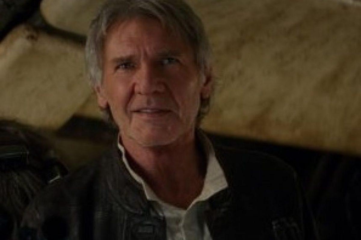 """""""Han Solo"""" en """"Star Wars: El despertar de la fuerza"""" Foto:IMDb"""