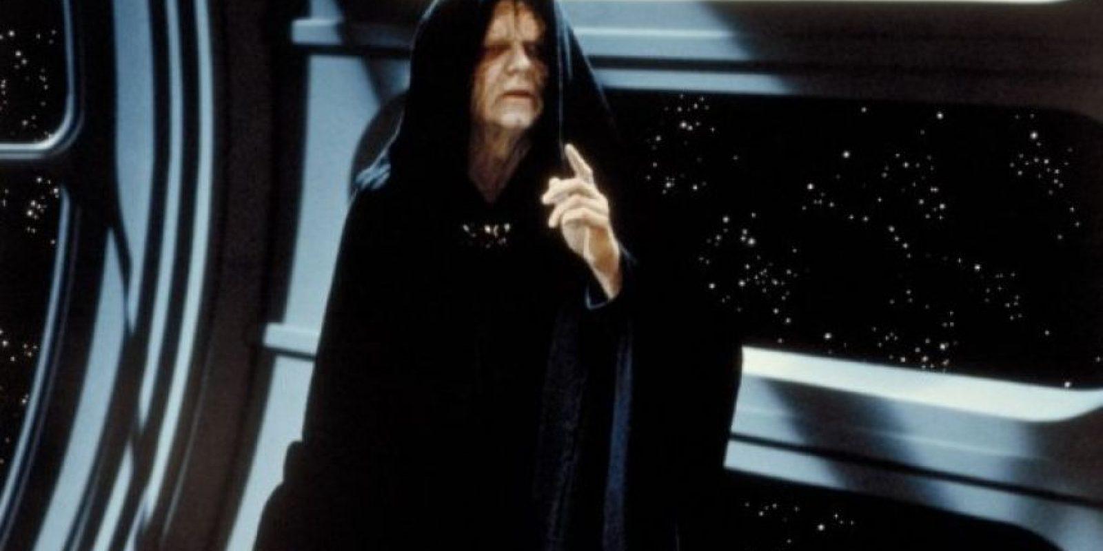 """Sheev Palpatine"" en ""Star Wars: El regreso del Jedi"" Foto:IMDb"