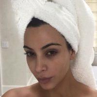 Kim Kardashian sin maquillaje Foto:vía instagram.com/kimkardashian