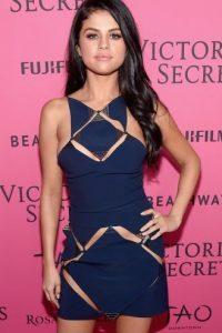 Selena Gómez con maquillaje Foto:Getty Images