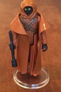 2. STAR WARS JAWA FIGURE VINYL CAPE 100% ORIGINAL DE 1977. Foto:vía ebay.com