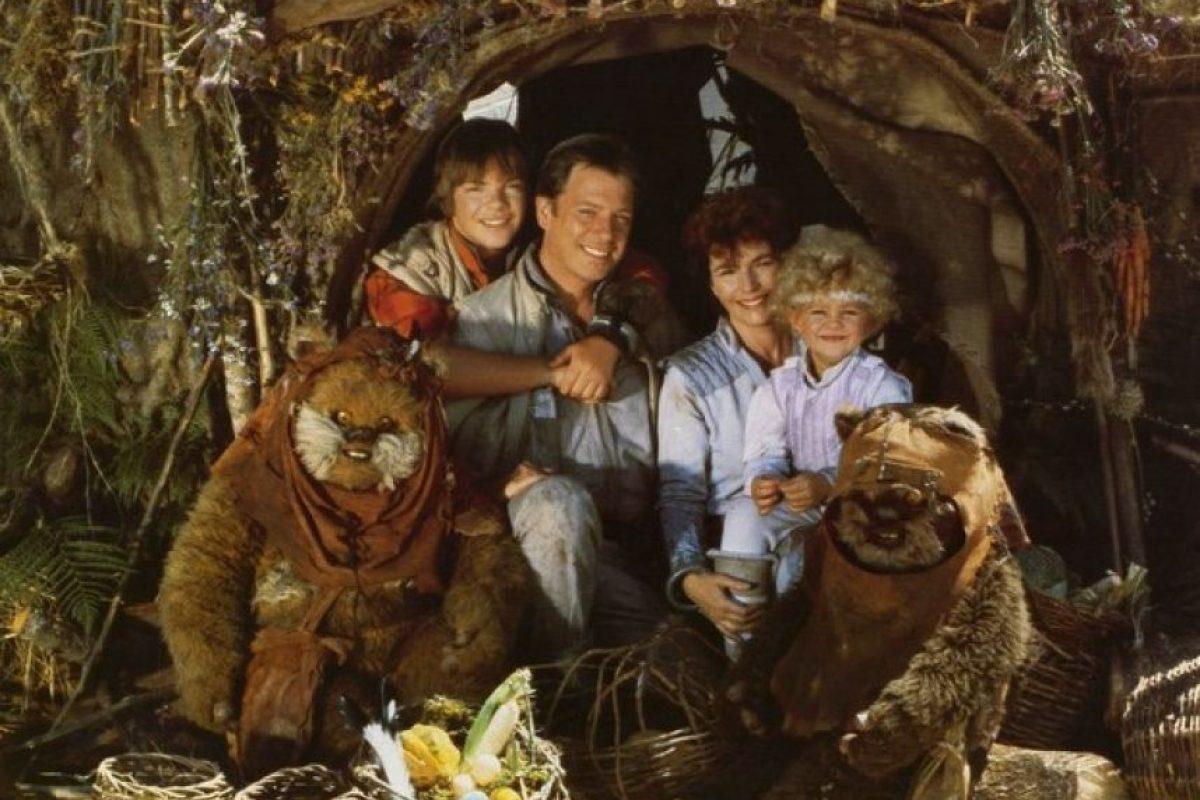 """¿Recuerdan la cinta """"La aventura de los ewoks"""" de 1984? Foto:IMDB"""