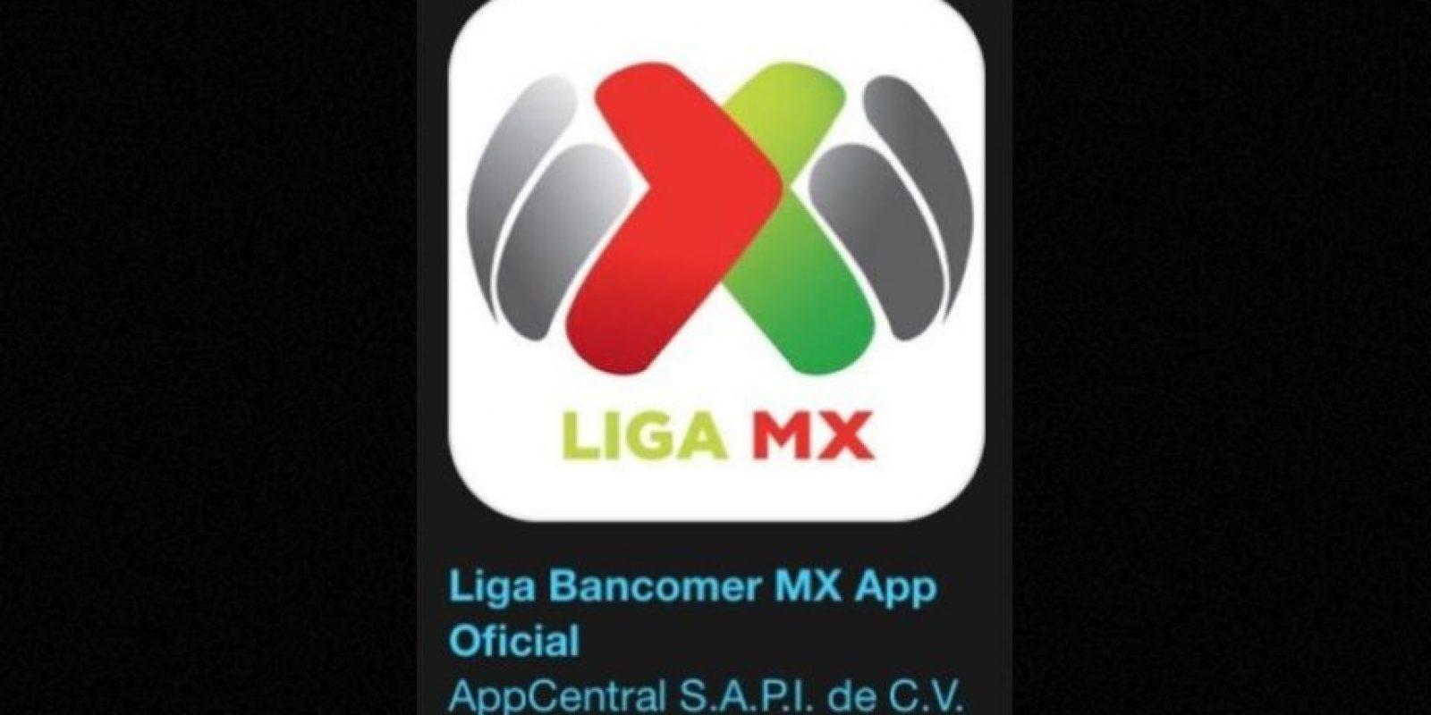 """13- """"Liga Bancomer MX App Oficial"""". Es gratuita y es la aplicación oficial de la liga de fútbol mexicano. Foto:Apple"""