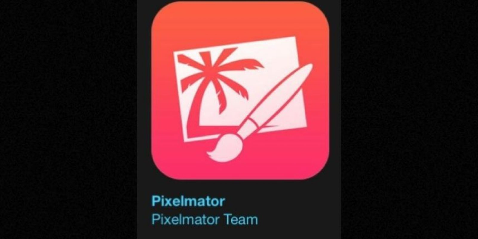 """15- """"Pixelmator"""". Cuesta cinco dólares y se trata de un editor de imagen que proporciona todo lo necesario para crear, editar y mejorar sus imágenes. Foto:Apple"""