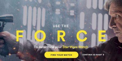 Spotify al estilo de la guerra de las galaxias. Foto:Spotify