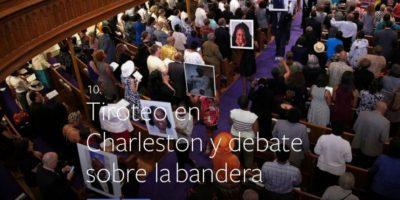 10- Tiroteo en Charleston y debate sobre la bandera. Foto:vía facebook.com