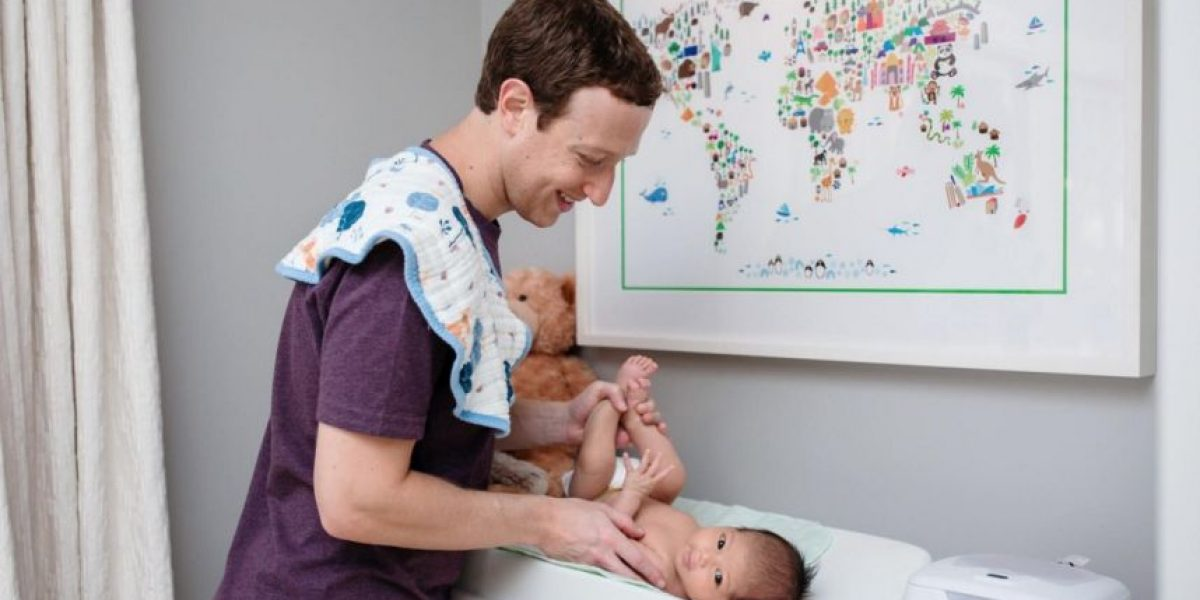 Foto: Mark Zuckerberg disfrazó a su hija como Jedi de
