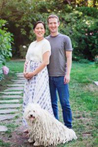 El día que anunciaron el embarazo de Priscilla. Foto:facebook.com/zuck