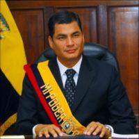 Rafael Correa, presidente de Ecuador, en 2007 Foto:Wikimedia