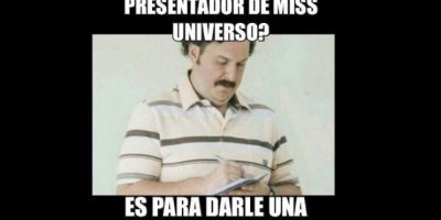 Algunos colombianos, ignorando su pasado con Pablo Escobar, le invocan. Foto:vía Twitter