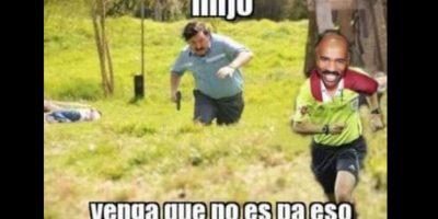 Todos los memes relacionados con el narco, sobre todo el interpretado por Andrés Parra, son los más usuales. Foto:vía Twitter