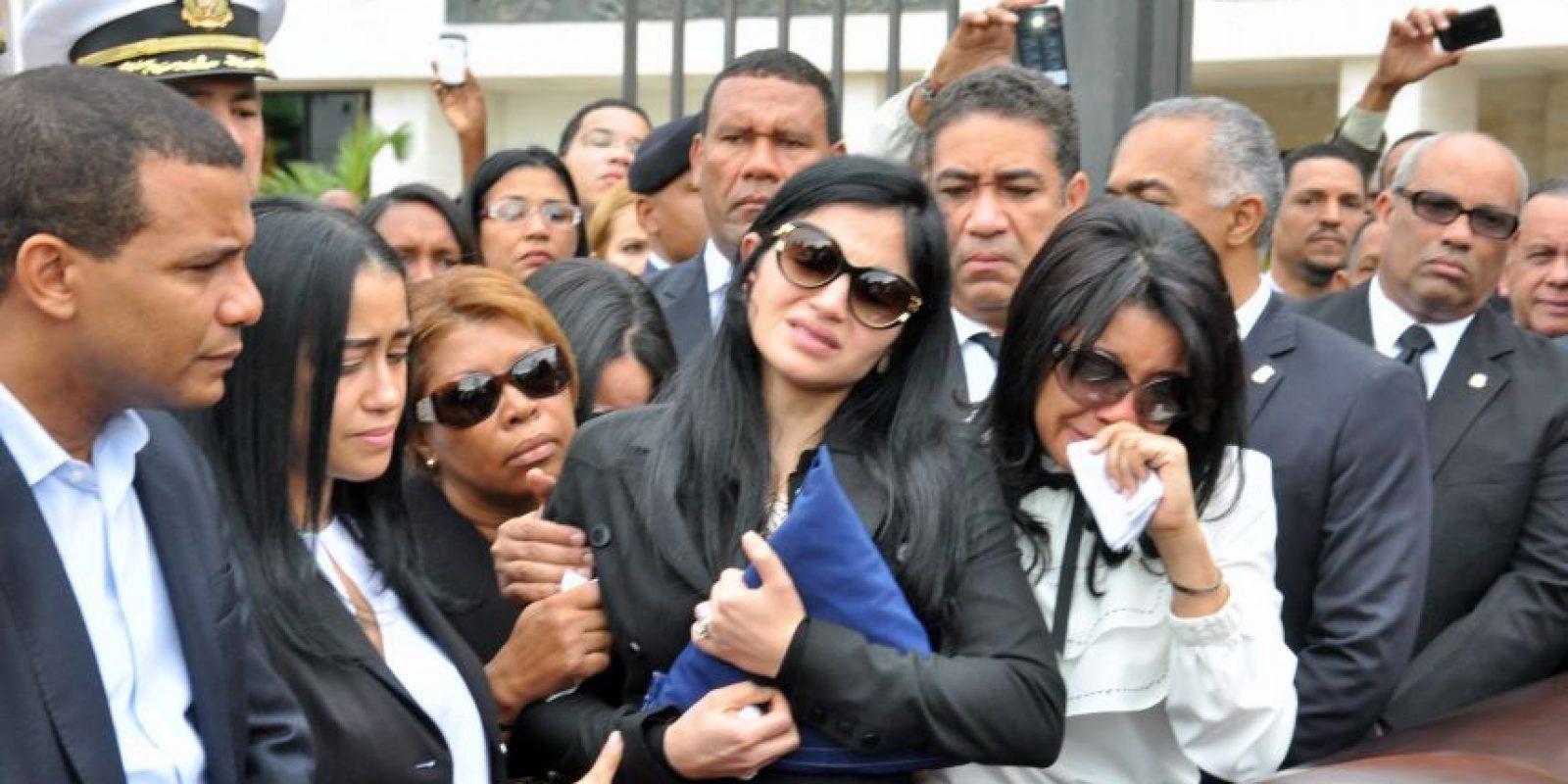 la despedida de su esposa Foto:Fuente Externa