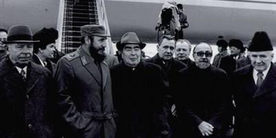Cuando Castro no quiso besar en la boca a Brezhnev
