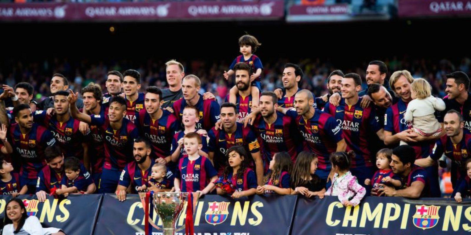 3. No lograron ganar la Liga de España, que quedó en manos del Barcelona. Foto:Getty Images