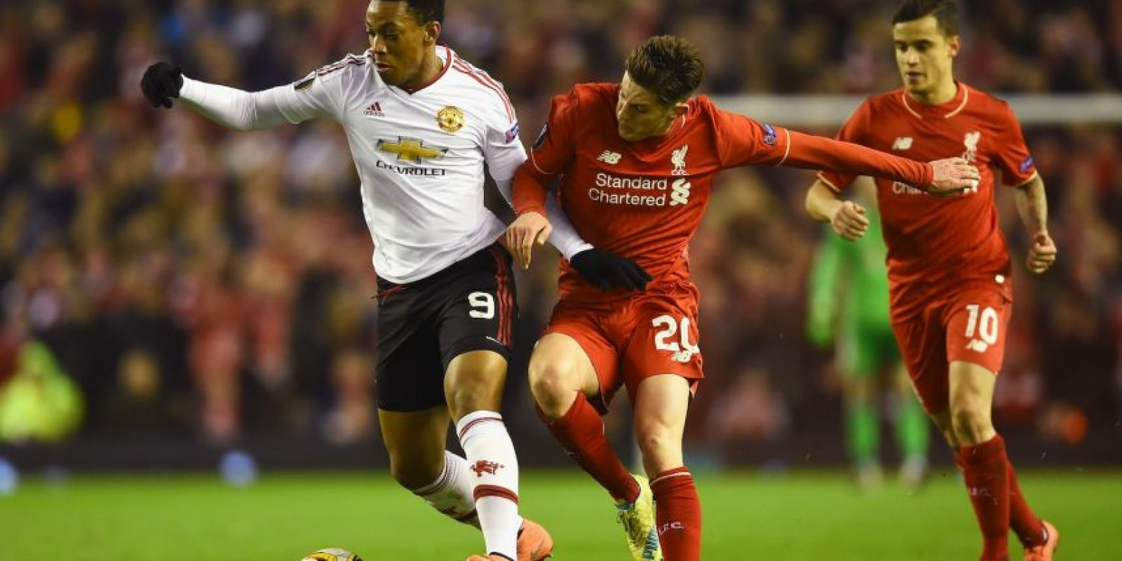 Manchester United vs. Liverpool Foto:Getty Images