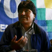 Evo Morales, presidente de Bolivia, 2005 Foto: Getty Images