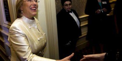 Michelle Bachelet, presidenta de Chile. Foto de 2006, de su primer mandato presidencial Foto:Getty Images