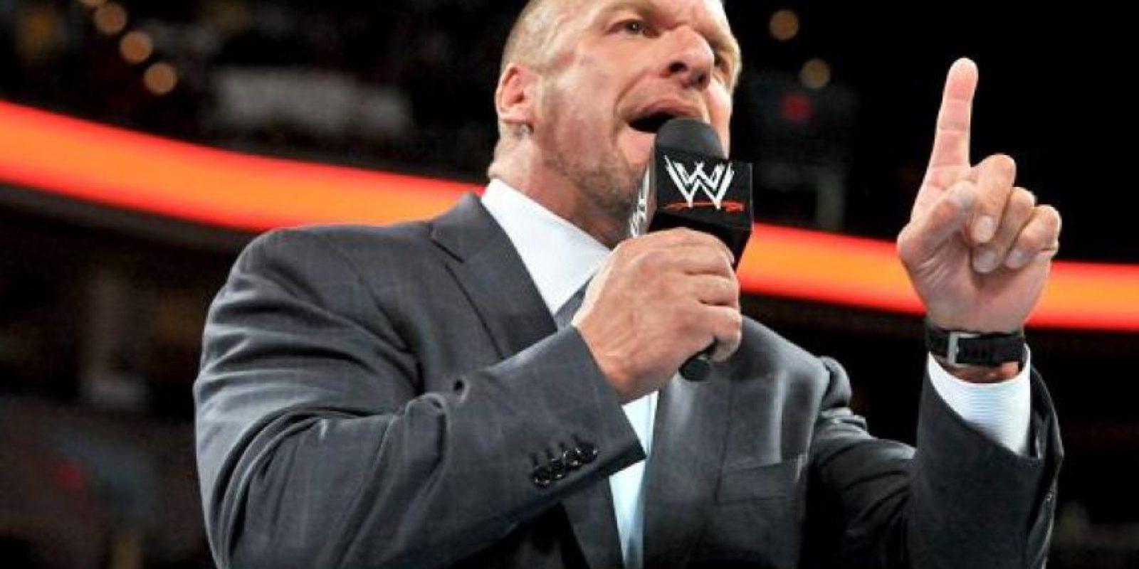Triple H alabó a Andy Carroll Foto:WWE