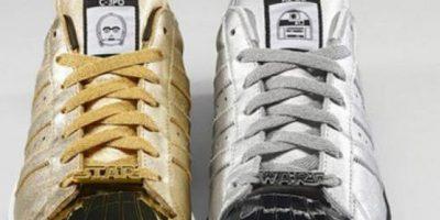 Hay zapatos para todos los que amen la saga y van en colores versátiles. Foto:vía Adidas