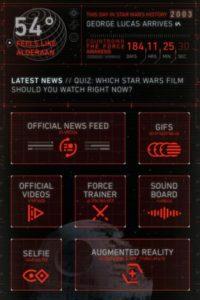 La más reciente aplicación oficial de la saga está disponible para iOS y Android. Foto:Disney