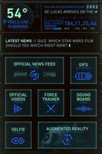 """Tema de escritorio """"androide"""". Foto:Disney"""