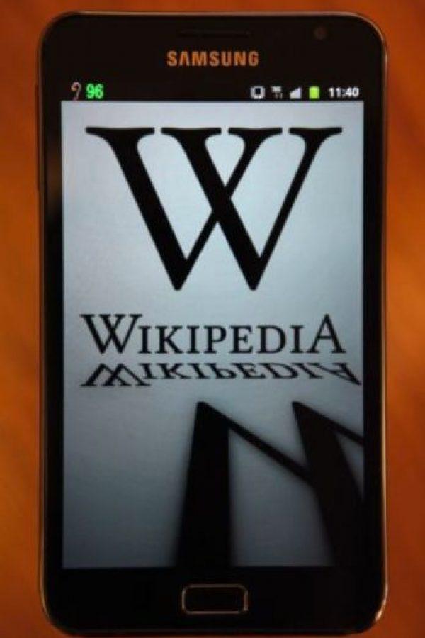Así es como sobrevive Wikipedia. Foto:Wikipedia
