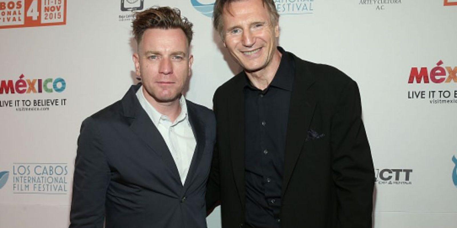 Así se les vio a los dos actores en un evento hace poco. Foto:vía Getty Images