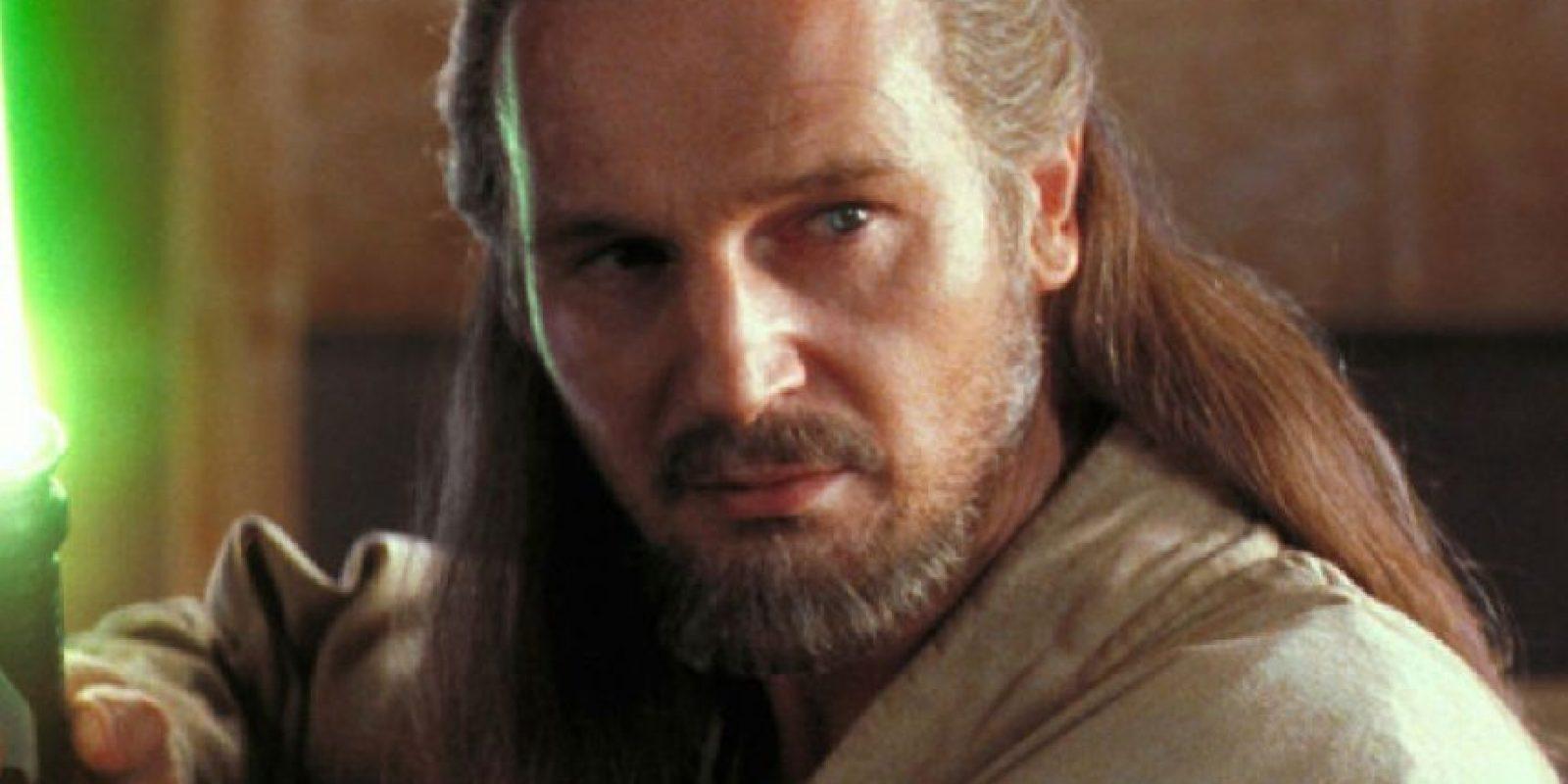 "Liam Neeson interpretó a ""Qui-Gon Jinn"". Foto:vía 20th Century Fox"