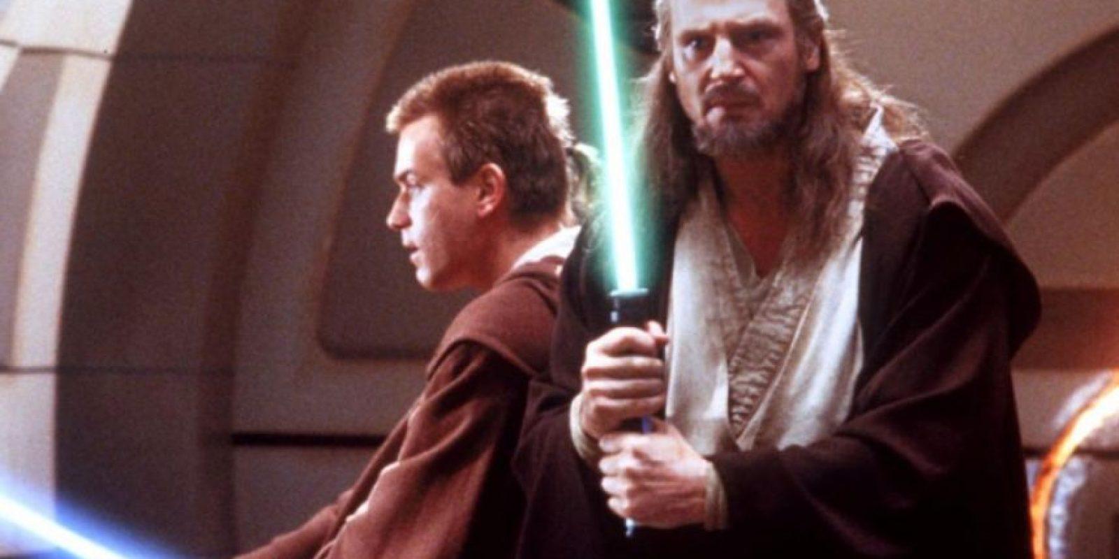 """Así se veían los dos actores en """"La Amenaza Fantasma"""". Foto:vía 20th Century Fox"""