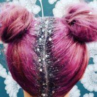 Escarcha en el pelo. Foto:vía Instagram