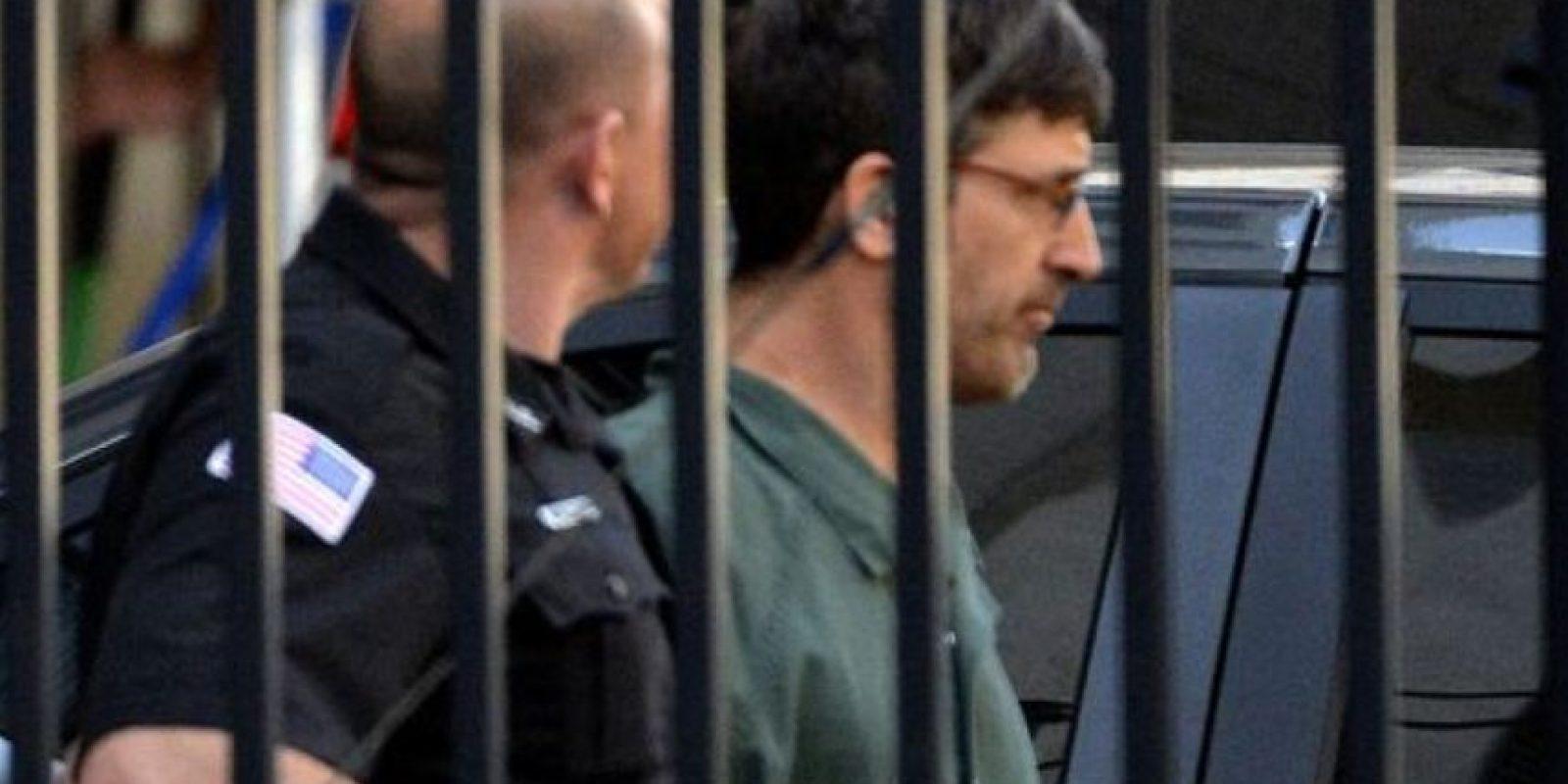 Como complice tenía a Glendon Scott Crawford. Foto:AP