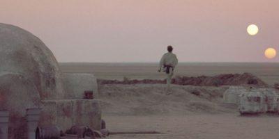 Tatooine, el planeta con dos soles en Star Wars. Foto:Universal Studios