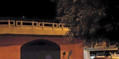 Hombre chocó contra muro porque pensó que era un túnel