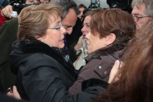 Michelle Bachelet, presidenta de Chile Foto:AFP