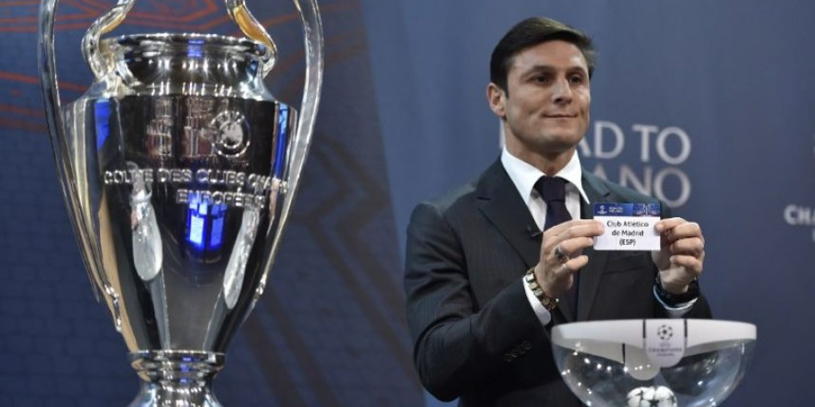 La final se disputará en el estadio Giuseppe Meazza, también conocido como Estado de San Siro, en Italia, el 28 de mayo. Foto:AFP