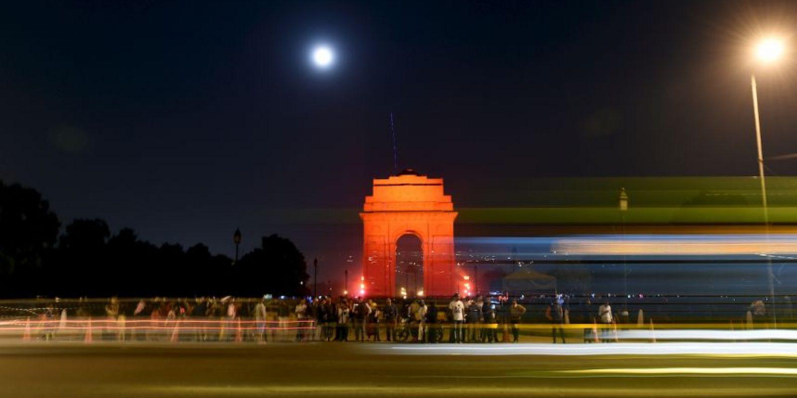 Puerta de la India en Nueva Delhi. Foto:AFP