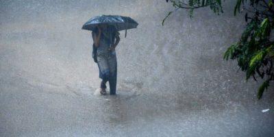 La India se enfrenta a lluvias monzónicas. Foto:AFP