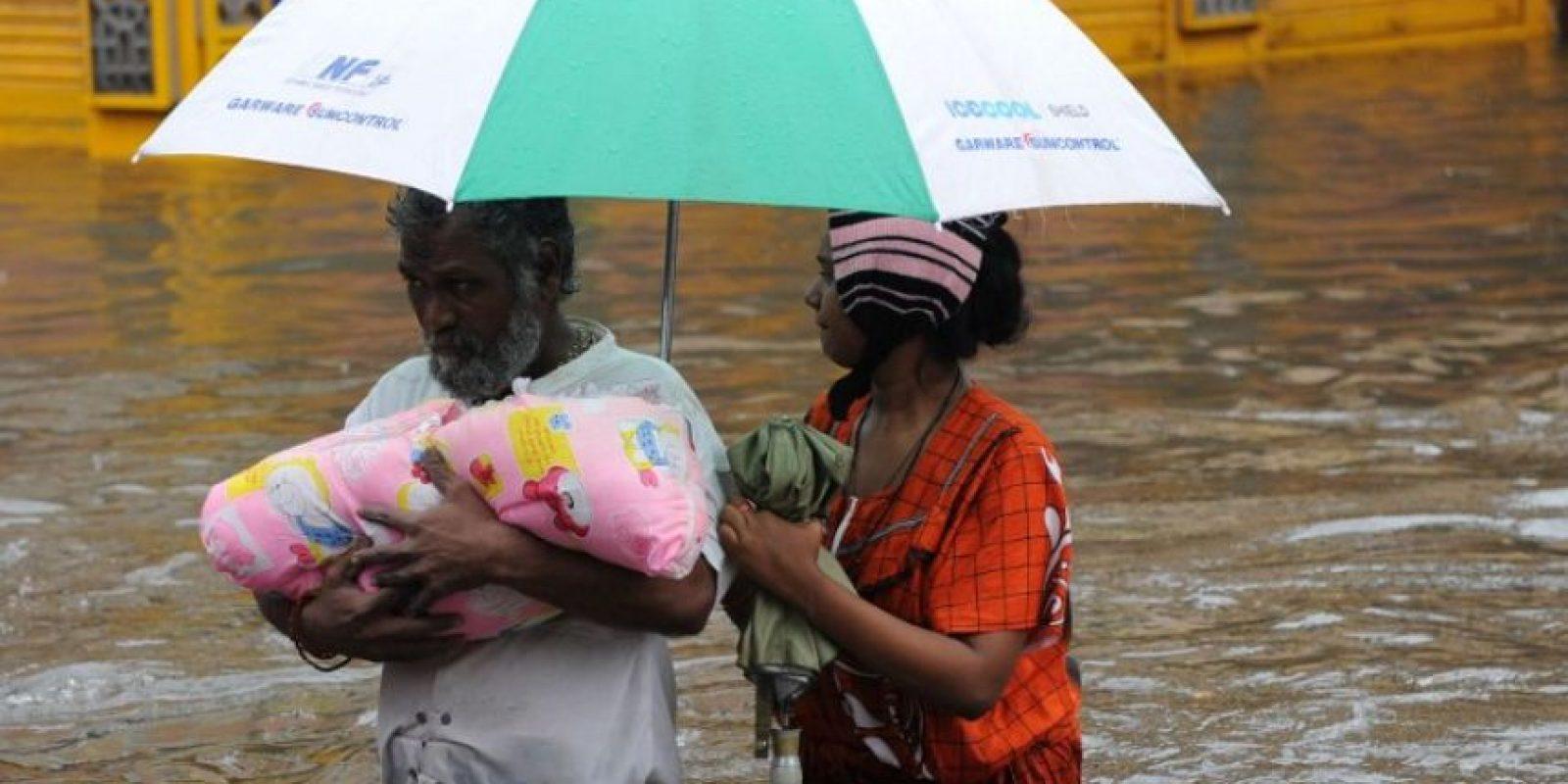 Los niveles del agua son extremos. Foto:AFP