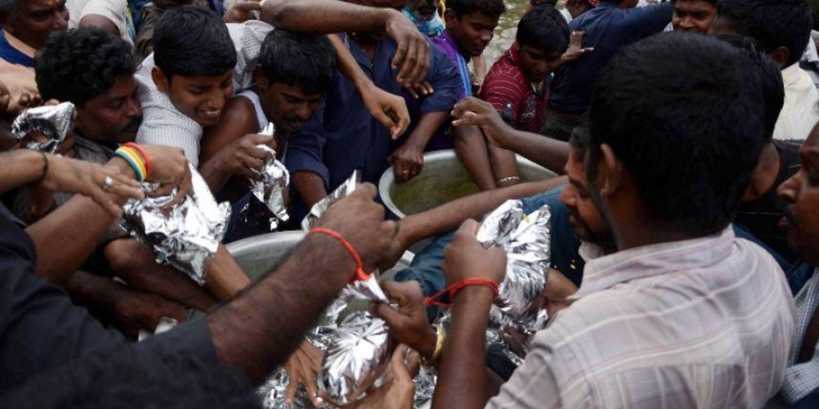 Más de 200 personas han muerto por las fuertes inundaciones. Foto:AFP