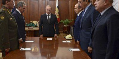 El presidente ruso Vladimir Putin señaló el ataque como uno por la espalda. Foto:AFP