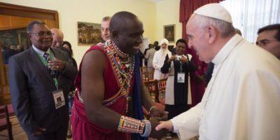 Se espera que esta visita inspire respeto entre religiosos Foto:AFP