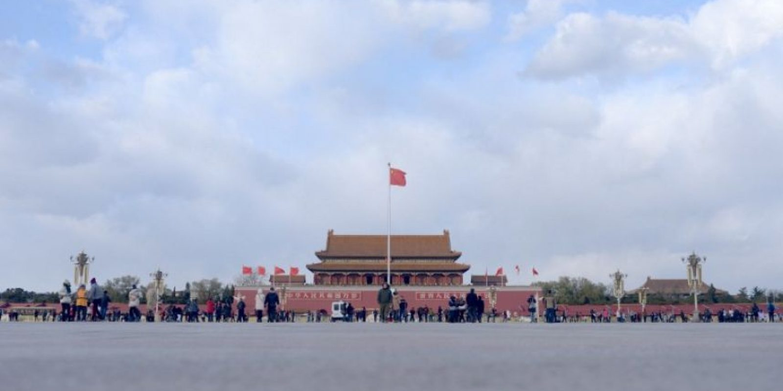 Y así se veía sin contaminación de aire Foto:AFP