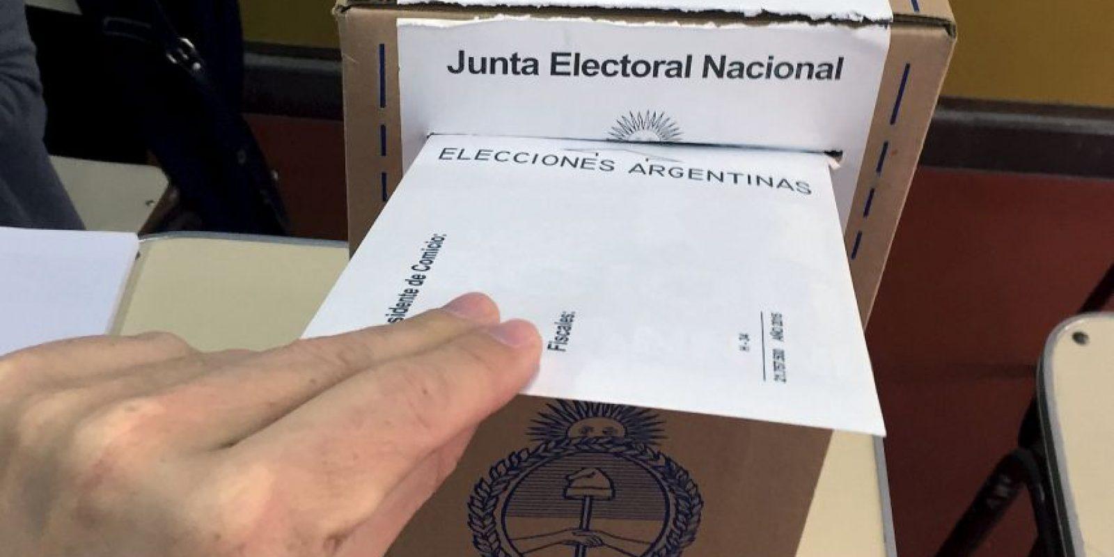 Igual que en la primera vuelta están convocados unos 32 millones de argentinos. Foto:AFP