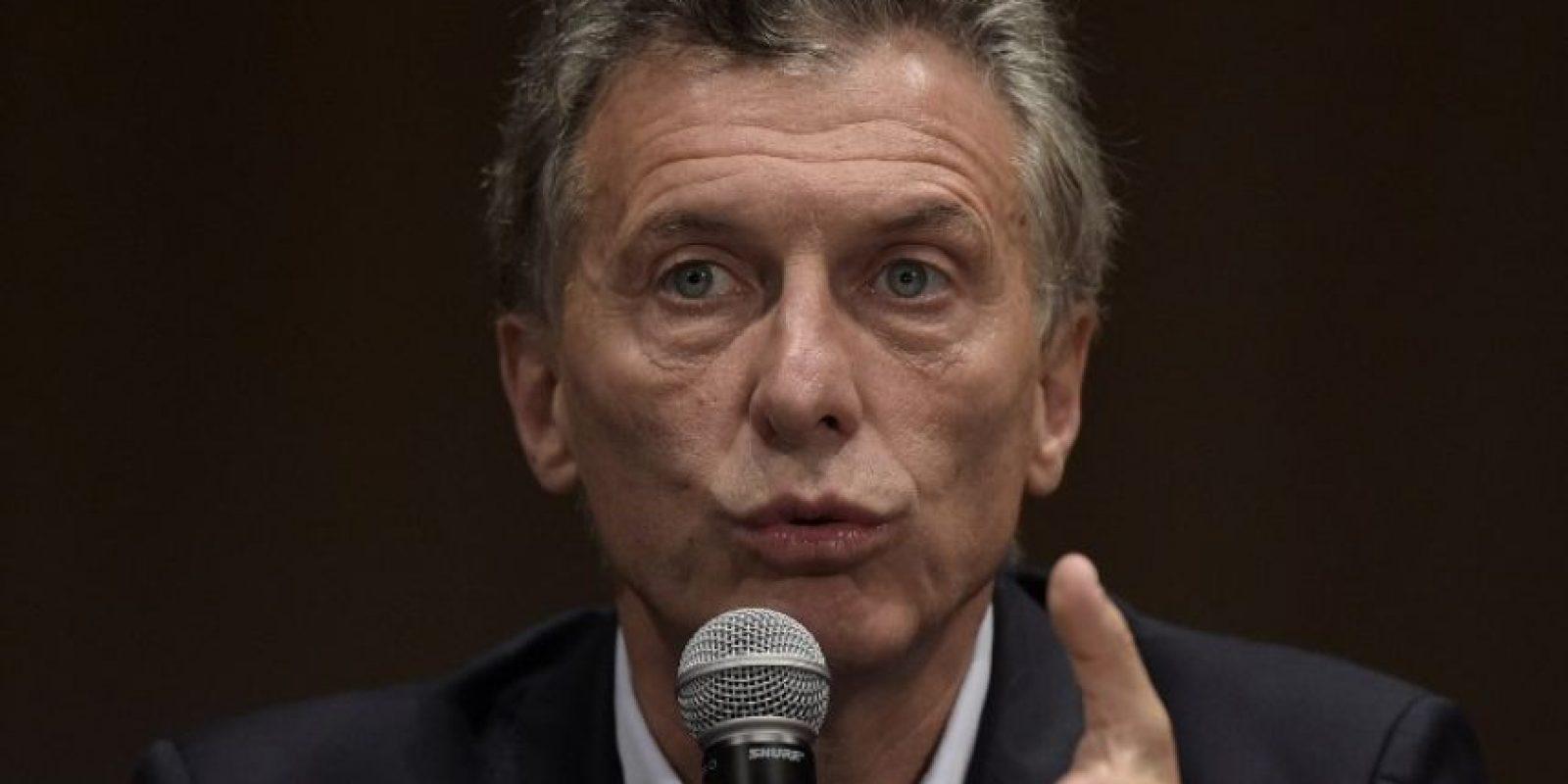 """""""Por supuesto me comprometo a ambas cosas"""", dijo al ser cuestionado sobre si continuaría el proceso judicial contra los represores y las políticas contra la violencia de género. Foto:AFP"""