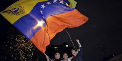 La oposición de Venezuela celebra haber ganado la mayoría en las elecciones parlamentarias. Foto:AFP