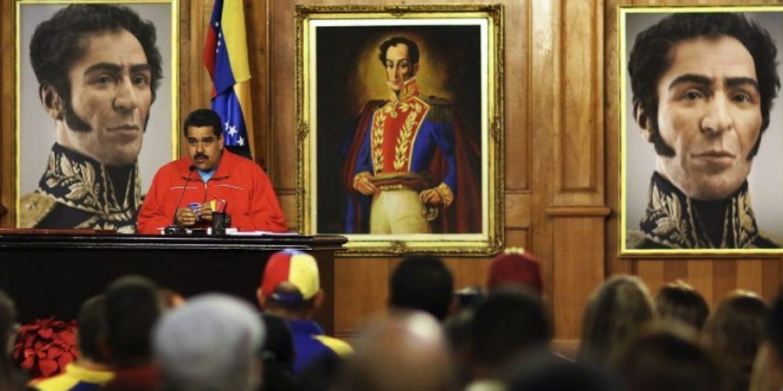 Estas son las cifras de Venezuela Foto:AFP