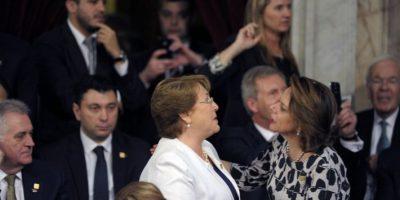 Se llevó a cabo la ceremonia de asunción presidencial de Mauricio Macri Foto:AFP